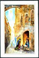 3514 - Glückwunschkarte Weihnachten Klappkarte - Weihnachtskrippe Krippe - Holidays & Celebrations