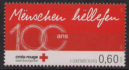 2014 Luxemburg  Mi. 2001 **MNH 100 Jahre Luxemburgisches Rotes Kreuz - Nuevos