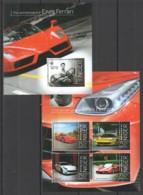 ST2851 2013 NIGER 115TH ANNIVERSARY ENZO FERRARI 1KB+1BL MNH - Auto's