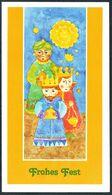 3621 - TOP Weihnachten Glückwunschkarte - Weihnachtskrippe Krippe - Klappkarte - Holidays & Celebrations