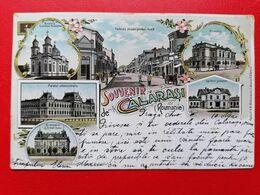 Romania Souvenir De Calarasi Litho - Romania