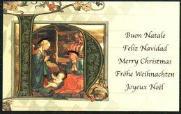 E0401 - Weihnachten Bildkarte - Weihnachtskrippe Krippe - Holidays & Celebrations