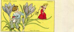 LANGAGE DES FLEURS  Crocus - Fancy Cards