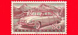 CECOSLOVACCHIA - Nuovo - 1958 - Sviluppo Della Produzione Di Auto In Cecoslovacchia - Tatra 603 - 80 - Czechoslovakia