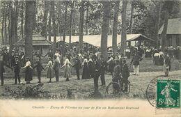 CHAVILLE - étang De L'Ursine Un Jour De Fête Au Restaurant Barraud. - Chaville