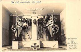 Echt Foto AK 1942 Sorau Żary Lebus Ehrenhof Der 4./Kf.-Ers.-Abt. 23 Auf Dem Flur - Polonia