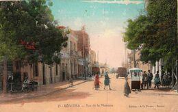 KENITRA (Maroc) - Rue De La Mamora  - Cpa écrite - Animée -  état Correct  - 2 Scans - Altri