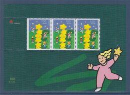 Madère Portugal Bloc Neuf Europa 2000 N°BF20 Composé De 3 Timbres Colonne D'étoiles Européennes Et Enfants En Cueillant - 2000