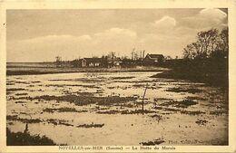 - Dpts Div -ref-AU286- Somme - Noyelles Sur Mer - La Hutte Des Marais - - Noyelles-sur-Mer