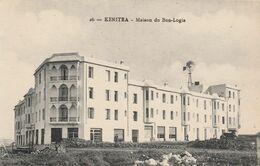 KENITRA (Maroc) - La Maison Du Bon-Logis - Une éolienne à L'arrière Plan - Cpa Vierge - Très Bon état - Otros