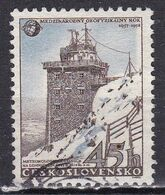 Cecoslovacchia, 1957 - 45h Meteorological Station - Nr.837 Usato° - Czechoslovakia