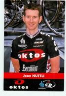 Jean NUTTLI . 2 Scans. Cyclisme. Oktos - Cycling