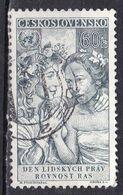 Cecoslovacchia, 1959 - 60h Equality Of All Races - Nr.905 Usato° - Czechoslovakia