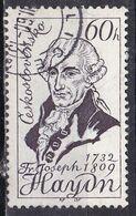 Cecoslovacchia, 1959 - 60h Haydn - Nr.940 Usato° - Czechoslovakia