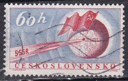 Cecoslovacchia, 1959 - 60h Lunik 2 - Nr.938 Usato° - Czechoslovakia