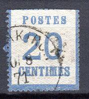 080920//// ALSACE LORRAINE N°6...LE VRAI PAS LA REIMPRESSION...second Choix - Alsazia-Lorena