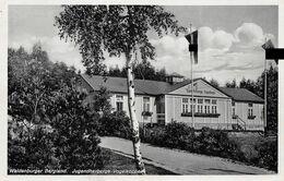 Echt Foto AK 1936 Waldenburger Bergland Schlesien Jugendherberge Vogelkoppe - Polonia