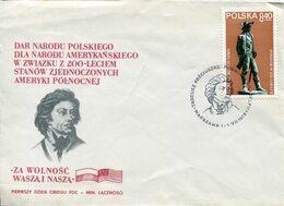 Poland - 1979 Gen. Tadeusz Kosziuszko - Lot. 474 - FDC