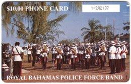 BAHAMAS A-092 Chip Batelco - Musicians, Royal Bahamas Police Force Band - Used - Bahamas
