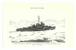 1953 - Héliogravure - Le Northwind Brise-glace Américain - PRÉVOIR FRAIS DE PORT - Bateaux