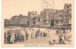 Cpa Malo-les-Bains / Villas De La Digue . - Malo Les Bains