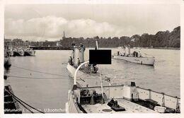 Echt Foto AK 1939 Neustadt (Holstein) U-Bootschule Mit U-Booten - Neustadt (Holstein)
