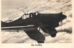 Echt Foto AK 2. WK WW2 Ca. 1935-1944 Auf Feindlug Flugzeug Der Luftwaffe - Guerra 1939-45