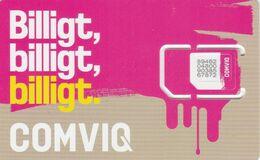 Sweden - Comviq (standard, Micro, Nano SIM) - GSM SIM - Mint - Schweden
