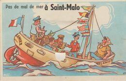 35 SAINT MALO ( Pas E Mal De Mer .. ) - Móviles (animadas)