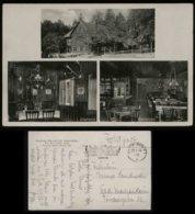 S5537 DR Feldpost Postkarte Baden Baden ,Waldhaus Scherrhof: Gebraucht Baden Baden Werbestempel  - Bad Mergentheim 194 - Germany
