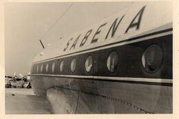 PHOTO - K - AVIATION - GROS PLAN AVION SABENA - Aviazione