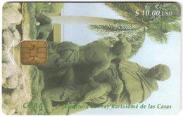 CUBA A-281 Chip Etecsa - Culture, Statue - Used - Kuba