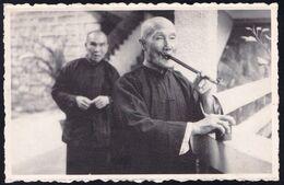 CHINA - * TWO INMATES FROM HONG KONG - DEUX VIEILLARDS - Smoking Pipe - Fumer La Pipe - NOT USED ! - Cina