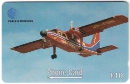 FALKLAND ISLANDS A-177 Magnetic Cable&Wireless - Traffic, Airplane - 275CFKC - Used - Islas Malvinas