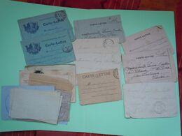 Lot De Correspondance D'un Poilu à Son Amie Durant La Guerre 1917-1918 - 1914-18