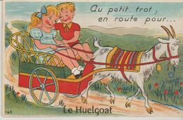 29 LE HUELGOAT ( Au Petit Trot En Route Pour.. ) - Móviles (animadas)