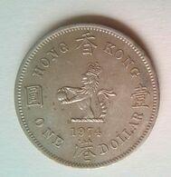 HK $1.00 1974 - Hongkong