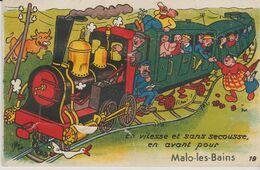 59 MALO LES BAINS ( En Vitesse Et Sans Secousse En Avant ) - Móviles (animadas)