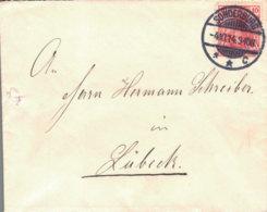 1914 SONDERBURG Bfh N. Lübeck - Machine Stamps (ATM)