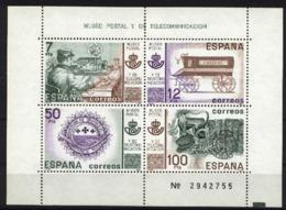 Spain 81. Museo Postal Ed 2641 (**) - 1981-90 Ongebruikt