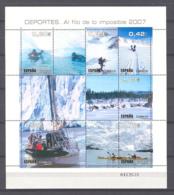 Spain.2007 -Deportes Al Filo De Lo Imposible  Ed 4345 (**) - 2001-10 Neufs