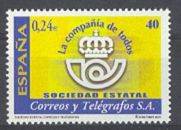 Spain 2001 - Sociedad De Correos Ed 3815 - 2001-10 Neufs