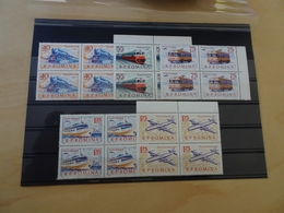 Rumänien Michel 2161/65 Postfrisch Viererblock Verkehr (15304) - 1948-.... Repúblicas