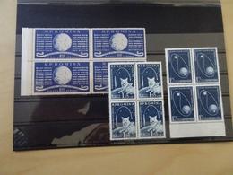 Rumänien Michel 1824-26 Postfrisch Viererblock Weltraum (15306) - Nuevos