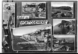 Saluti Da Portovenere (La Spezia). Vedutine. - La Spezia