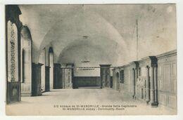 76 - Abbaye De St-Wandrille - Grande Salle Capitulaire - Saint-Wandrille-Rançon