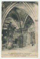 76 - Abbaye De St-Wandrille - Dans Le Cloître. La Porte De L'Eglise - Saint-Wandrille-Rançon