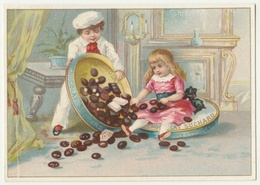 ANCIEN CHROMO Chocolat SUCHARD   +/- 1885         Serie 10        Trade Card - Suchard