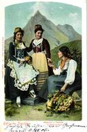 Schweiz, Rätische Trachten, Mesocco U. Calanca, Volkstrachten, 1906 - Other