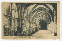 76 - Abbaye De St-Wandrille - Galerie Du Cloître - Saint-Wandrille-Rançon